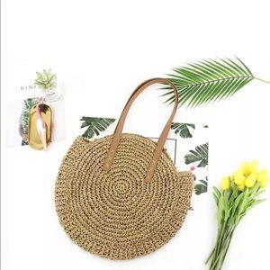 Chic Straw beach bag